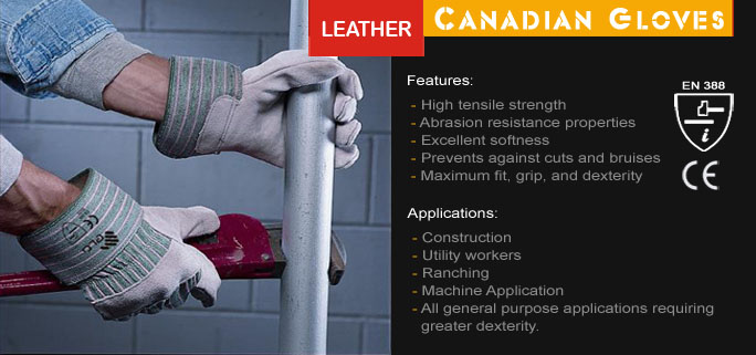 Leather Canadian Gloves
